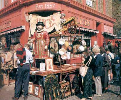 Mercato Portobello vintage