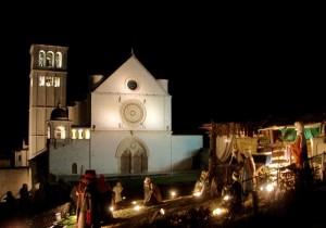 Presepe di Assisi Natale 2012