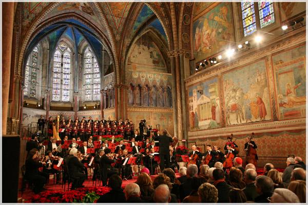 Concerto di Natale Assisi