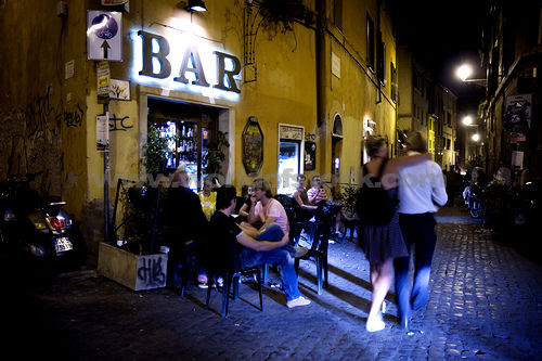 Bar a Trastevere