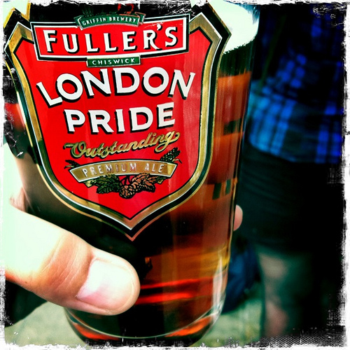 london pride ale beer