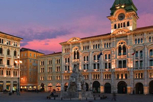 Trieste foto piazza