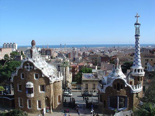 Barcellona parque guell