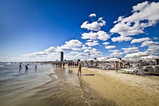 Spiaggia a Cesenatico