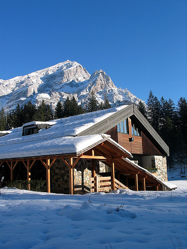 chalet vacanze invernali