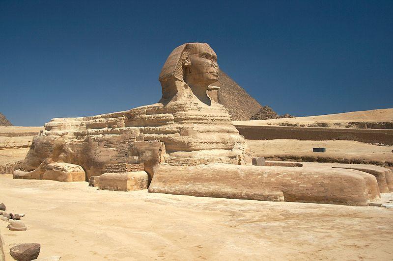 Sfinge di Giza e Piramidi