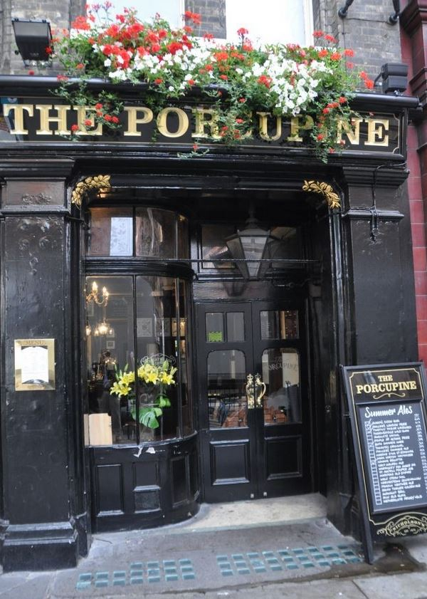 Ristorante Centro Londra the Porcupine