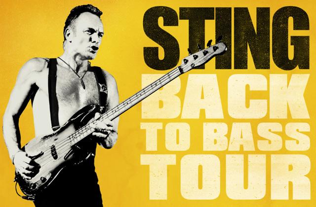 Tour di Sting il 29 luglio all'Arena della Regina a Cattolica