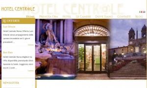 Nuovo sito Hotel Centrale Roma