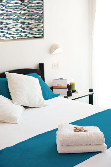 Le camere dell'Hotel Riz