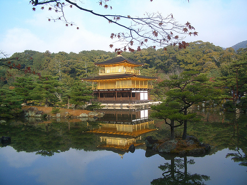 tempio dorato giappone