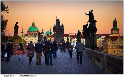 Praga ponte carlo karluvi most
