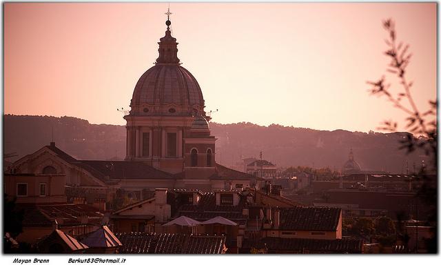 Roma Panorama Piazza del Popolo