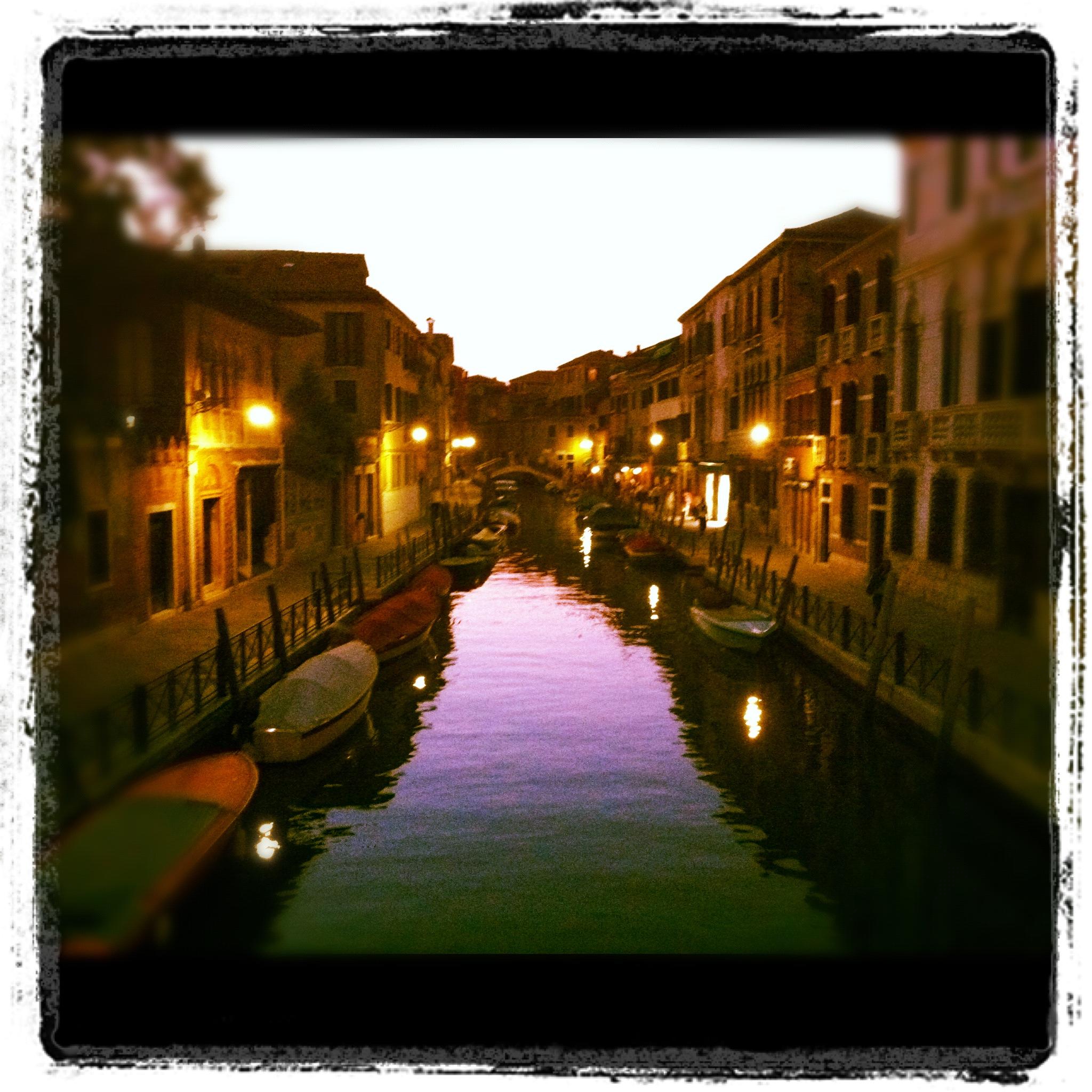 Venezia Canale Carnevale